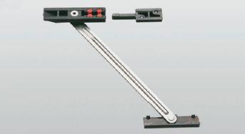 Bracci e compassi per alluminio - Limitatore apertura porta blindata ...
