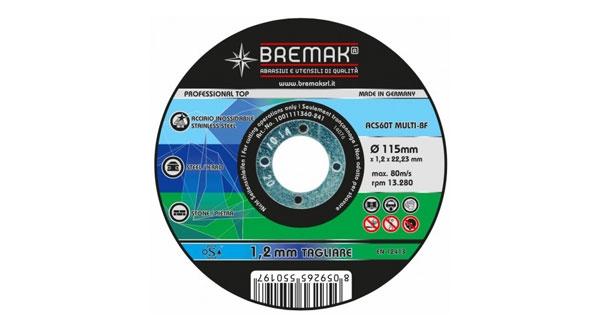 Disco da taglio universale multi bremak 1001111360 - Disco taglio piastrelle ...