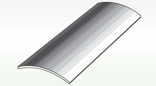 Profilo per pavimenti a pari livello inox profilpas 720 for Profili per gradini in acciaio