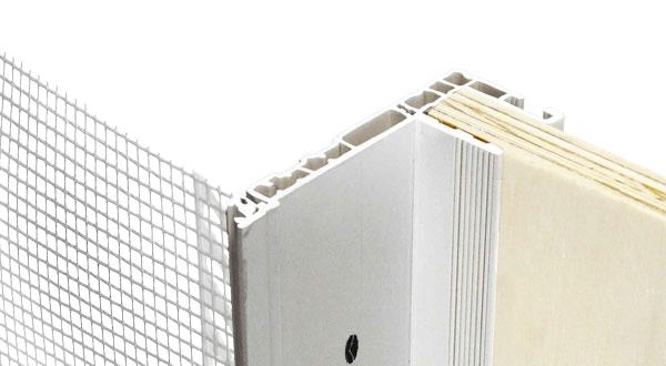 Profilo controtelaio mod c1 super de faveri c1 super - Profili alluminio per finestre ...