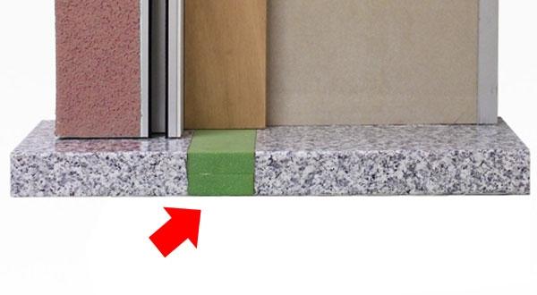 Listello taglio termico davanzale de faveri tt - Aeratore termico per finestra ...