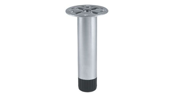 Piedino regolabile ferro zincato mod 4437 hardware 4437 - Piedini per mobili design ...