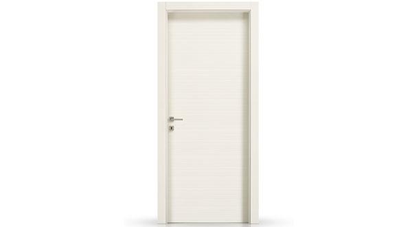 Porte In Larice Bianco.Porta Quadra Cieca Bianco Matrix Viemme 320bl