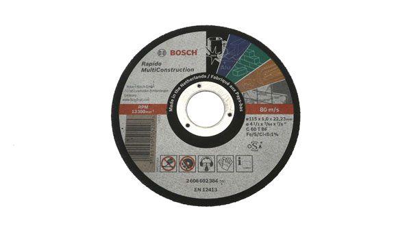 Disco da taglio unversale bosch c60tbf - Disco taglio piastrelle ...