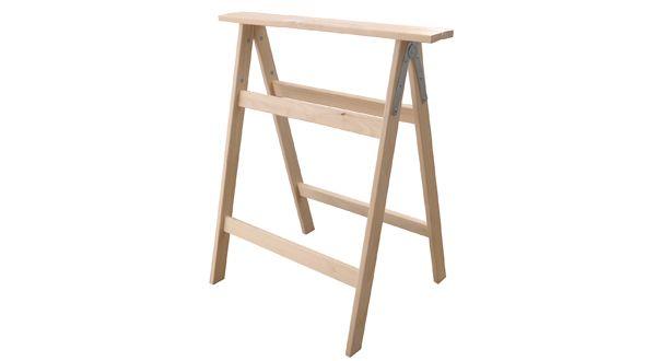 Cavalletto pieghevole in legno cm.90 Tecnomercat DF606