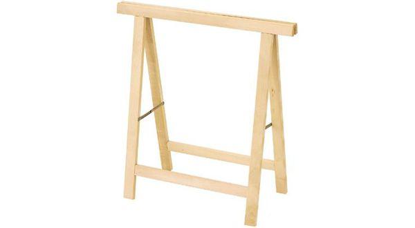 Cavalletto pieghevole in legno cm.75x75 Tecnomercato S155
