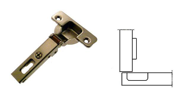 Cerniera invisibile 110 anta a sormonto salice c2a6a99 for Cerniere per mobili