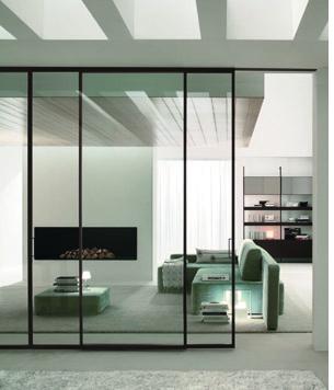 Collezione porte da interno in vetro dividere ed unire - Porte da interno con vetro ...